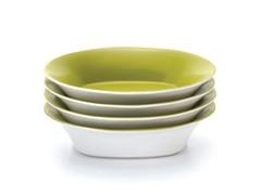 """9"""" Pasta Bowls (4) - Green"""