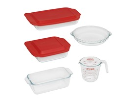 Pyrex 7-Piece Basics Bake Set