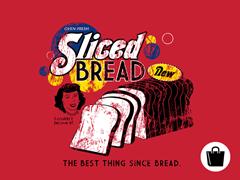 Sliced Bread Zip Tote