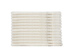 MicroCotton 12pc Washcloth Set-Cameo