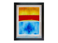 Rothko - Untitled (yellow, red and blue)