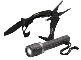 Gerber Multi-Tool and Flashlight Bundle