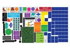 Peel, Play & Learn Geometry Wall Play Set