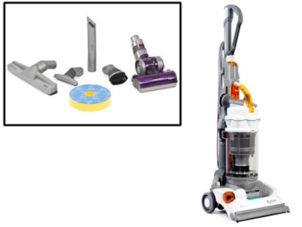 Dyson Dc14 Full Kit Upright Vacuum