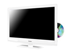 "Haier 24"" 1080p LED HDTV w/ DVD Player"