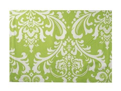 Large Damask Placemat S/4-Chartreuse