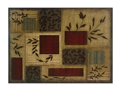Olivia Area Rug Beige/Red - 5 Sizes
