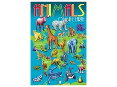 Animals of the Earth Poster