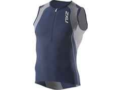 2XU Men's Long Distance Tri Singlet