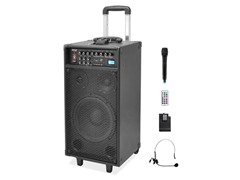"800W 10"" Wireless PA Speaker Sound System"