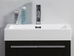 """24"""" Midori: Single Sink Bathroom Vanity- Wenge"""