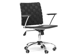 Vittoria Black Office Chair