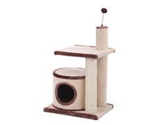 "2-Level Carpeted Condo and Perch 29""H"