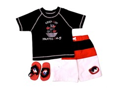 Pirates Only Swimsuit Set (12M-4T)
