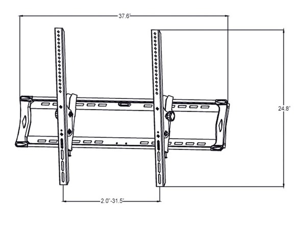 pyle tilt flat panel flush mount