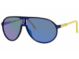Carrera Champion Men's Aviator- Blue/Yellow