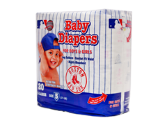 Boston Red Sox Disposable Diapers