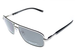 Men's Silver Metal Sunglasses