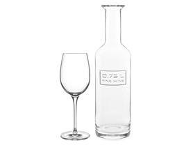 Luigi Bormioli Optima 6pc Wine Set w/Carafe