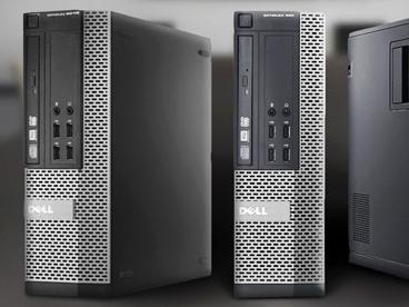A Drove Of Dell Business Class Desktops