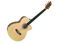 "39"" Beginner Acoustic Guitar Package"