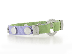 Charm Bracelet - Purple w/ Green