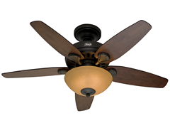 Hunter 44-inch New Bronze Light Kit
