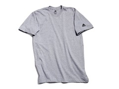 adidas Short Sleeve T-Shirt, Grey