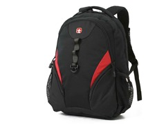 Backpack- Black with Red
