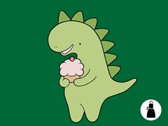 Cupcakeosaur Apron