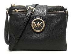 Michael Kors Fulton Large Crossbody, Black