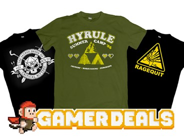 Gaming Wear - Shirts & Swag for Gamers