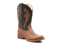 Roper Square Toe Boot W/ Pistol (Tod. 10-11)