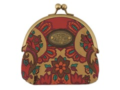 Karma Marrakech Damask Kisslock, Red