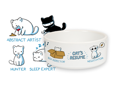 Cat's Resume Pet Bowl