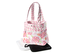 Hula Baby Tulip Tote with Clutch