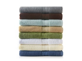 MicroCotton Aertex 3Pc Towel Set-7 Colors