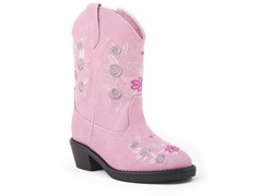 Roper Snip Toe Boot w/ Floral (Tod. 5-8)
