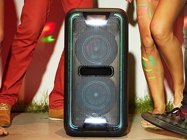 Sony High-Powered Bluetooth Light-Up Speaker