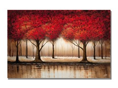 Rio Parade of Red Trees (2 Sizes)