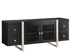 "Homelegance Metro 62"" Black TV Console"