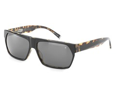 V765 Sunglasses, Brown Horn