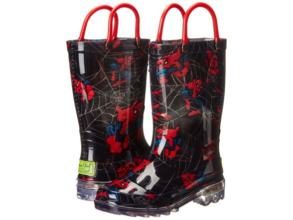 Spider-Man Lighted Rain Boot (8T) WT117762A