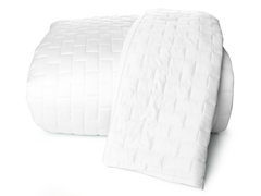 Rayon from Bamboo Coverlet-White-3 Sizes