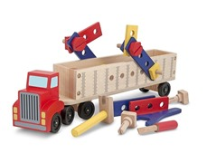 Wooden Big Rig Building Set