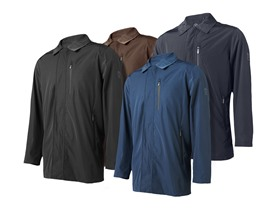 Tumi Waterproof Zip Jacket - 4 Colors