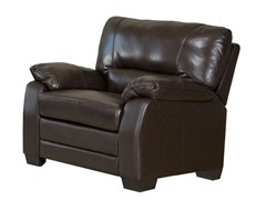 Wilshire Top Grain Leather Arm Chair