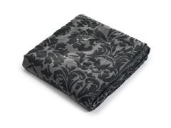 Jacquard Blanket Throw - Blue
