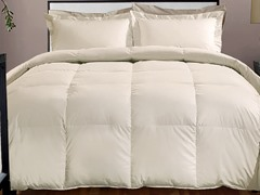 800TC Down Alternative Comforter-Ivory-3 Sizes