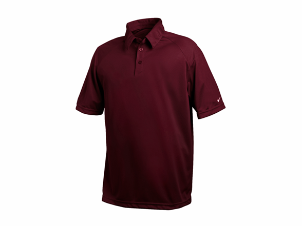 Reckoning dri fit polo maroon for Maroon dri fit polo shirt